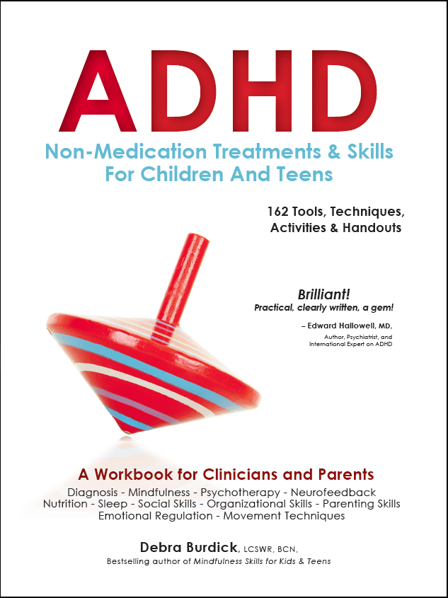 ADHD Non-Medication Book Cover